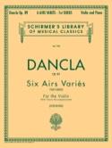 6 Airs variés op. 89 DANCLA Partition Violon - laflutedepan.com