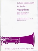 Variations pour clarinette Gioacchino Rossini laflutedepan.com