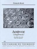 Daphnoé - François Rossé - Partition - Flûte à bec - laflutedepan.com