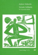 Sonate brillante – Sopranblockflöte - Anton Heberle - laflutedepan.com