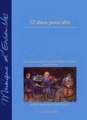 12 Duos pour alto Leopold Mozart Partition Alto - laflutedepan.com