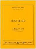 Prise de bec Jérome Naulais Partition Clarinette - laflutedepan.com