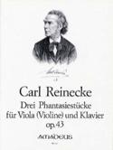 3 Phantasiestücke Opus 43 Carl Reinecke Partition laflutedepan.com