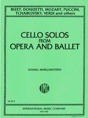 Cello solos from opera and ballet BIZET Partition laflutedepan.com