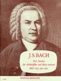 3 Sonaten BWV 1033, 1034, 1035 BACH Partition laflutedepan.com