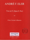 Trio In F Major Op. 9 N° 1 - Flute Clarinet Bassoon laflutedepan.com