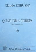 Quatuor à Cordes DEBUSSY Partition Grand format - laflutedepan.com