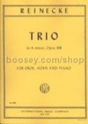 Trio in A Minor Opus 188 Carl Reinecke Partition laflutedepan.com