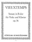 Sonate in B Dur op. 36 – Viola Henri Vieuxtemps laflutedepan.com