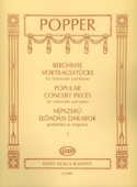 Popular Concert Pieces Volume 1 David Popper laflutedepan.com