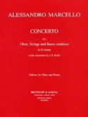 Concerto en RÉ mineur Alessandro Marcello Partition laflutedepan.com