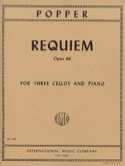 Requiem op. 66 - 3 Cellos Piano – Parts - laflutedepan.com