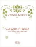 Cantabile et Presto Georges Enesco Partition laflutedepan.com