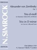 Trio d-moll op. 3 - Klarinette (Violine) Cello Klavier laflutedepan.com