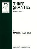 3 Shanties for wind quintet - Parts Malcolm Arnold laflutedepan.com