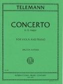 Concerto in G major – Viola Georg Philipp Telemann laflutedepan.com