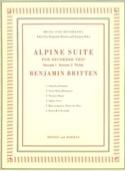 Alpine Suite – recorder trio Benjamin Britten laflutedepan.com