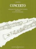 Concerto - Oboe clarinet piano Domenico Cimarosa laflutedepan.com