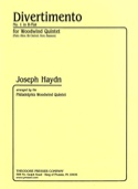 Divertimento n°1 in B Flat -Woodwind quintet - Score + parts laflutedepan.com