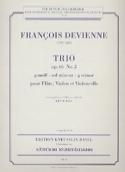 Trio op. 66 n° 2 g-moll -Stimmen François Devienne laflutedepan.com