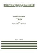 Trio 1926 Francis Poulenc Partition Trios - laflutedepan.com