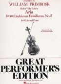 Aria Bachianas Brasilieras n° 5 - Viola or Cello laflutedepan.com