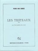 Les Tréteaux Pierre-Max Dubois Partition Trios - laflutedepan.com