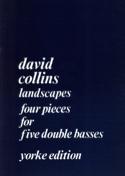 Landscapes David Collins Partition Contrebasse - laflutedepan.com
