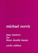 Bass Motives - 3 Double basses Michael Norris laflutedepan.com