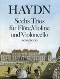 6 Trios - Flöte Violine Violoncello HAYDN Partition laflutedepan.com