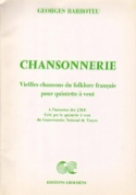 Chansonnerie - Quintette à Vents Georges Barboteu laflutedepan.com
