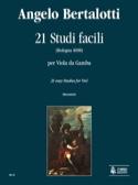 21 Studi Facili Angelo Bertalotti Partition laflutedepan.com
