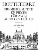 Première Suitte de pièces op. 4 - 2 fl. à bec alto laflutedepan.com