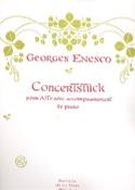 Concerstück - Georges Enesco - Partition - Alto - laflutedepan.com