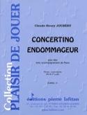 Concertino Endommageur Claude-Henry Joubert Partition laflutedepan.com