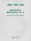 Bachianas Brasileiras N° 5 - Parties + Conducteur laflutedepan.com