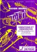 Vibrations et Obsessions Claude Crousier Partition laflutedepan.com