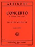 Concerto in D minor op. 9 n° 2 – Oboe piano laflutedepan.com