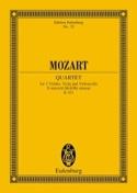 Streichquartett D-Moll Kv 421 - Conducteur MOZART laflutedepan.com