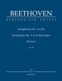 Symphonie N° 3 Mi B Maj. Héroïque BEETHOVEN Partition laflutedepan.com