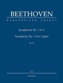 Symphonie Nr. 1 en Do Majeur Op. 21 - Conducteur laflutedepan.com