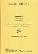 Danses Sacrées et Profanes DEBUSSY Partition Harpe - laflutedepan.com