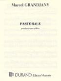 Pastorale - Marcel Grandjany - Partition - Harpe - laflutedepan.com
