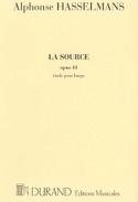 La Source - Harpe Alphonse Hasselmans Partition laflutedepan.com