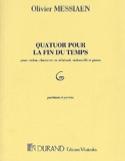 Quatuor pour la fin du Temps – Parties - laflutedepan.com