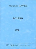 Boléro - Conducteur Maurice Ravel Partition laflutedepan.com