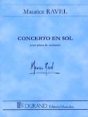 Concerto en Sol pour piano et orch. - Conducteur laflutedepan.com