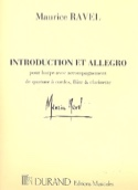 Introduction et Allegro - Parties Maurice Ravel laflutedepan.com