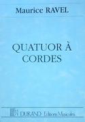 Quatuor à cordes - Conducteur Maurice Ravel Partition laflutedepan.com