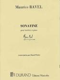 Sonatine – hautbois et piano - Maurice Ravel - laflutedepan.com